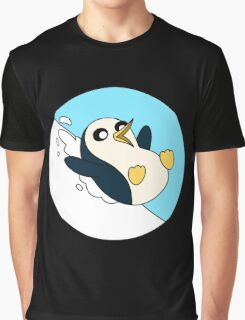 GUNTER THE PENGUIN Graphic T-Shirt