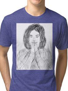 Bjork- Debut Tri-blend T-Shirt