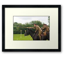 Charge of the 16th Lancers Framed Print