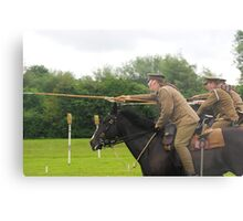 Charge of the 16th Lancers Metal Print