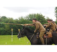 Charge of the 16th Lancers Photographic Print