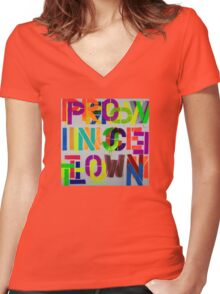 Provincetown Fun! • Dave Hay Women's Fitted V-Neck T-Shirt