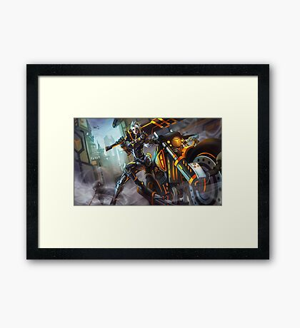 Project : Riven Framed Print