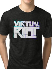 Virtual Riot Merch Tri-blend T-Shirt