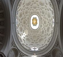 San Carlo alle Quattro Fontane, Borromini by Tom Hewitt