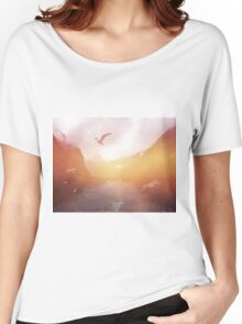 Landscape 04 Women's Relaxed Fit T-Shirt