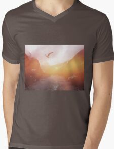 Landscape 04 Mens V-Neck T-Shirt