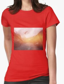 Landscape 04 Womens Fitted T-Shirt