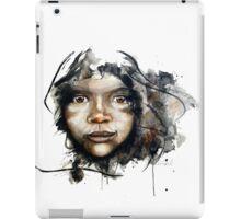 Watercolour portrait iPad Case/Skin