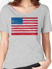 """King of Amerika"" by Dave Hay • haydave.com Women's Relaxed Fit T-Shirt"