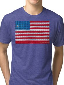 """""""King of Amerika"""" by Dave Hay • haydave.com Tri-blend T-Shirt"""