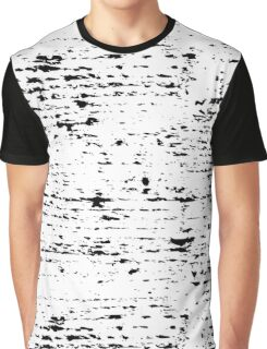 Black texture of real mascara strokes - pattern Graphic T-Shirt