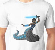 Electric Blue Naga Unisex T-Shirt