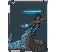 Electric Blue Naga iPad Case/Skin