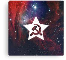 Space Communism Canvas Print