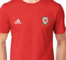 WALES NATIONAL FOOTBALL TEAM DRAGONS KIT 2016 Unisex T-Shirt