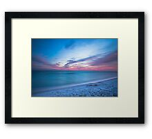 If By Sea Framed Print