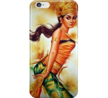 Traditional Dancer - A Girl iPhone Case/Skin