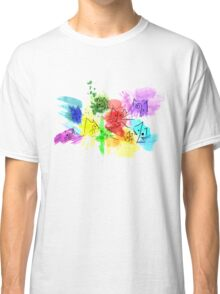 Abstract Cats Classic T-Shirt
