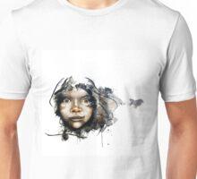 Watercolour portrait Unisex T-Shirt
