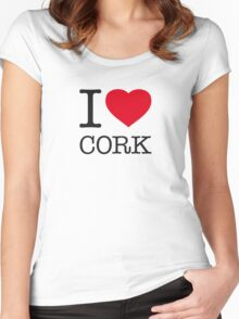 I ♥ CORK Women's Fitted Scoop T-Shirt