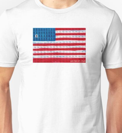 King of Amerika by Dave Hay - smaller version Unisex T-Shirt