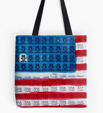 King of Amerika by Dave Hay - smaller version Tote Bag