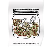 Sour Diesel in Small Mason Jar Poster