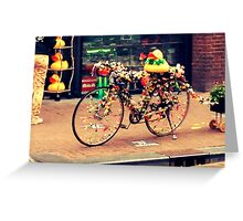 Amsterdam Bicycle Greeting Card