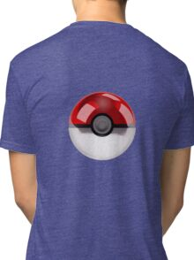 Poke Ball Pokemon Tri-blend T-Shirt