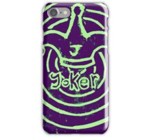 Joker Card iPhone Case/Skin