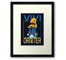 Vivi Ornitier v2 Framed Print