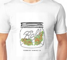 Red Racer #5 in Small Mason Jar Unisex T-Shirt
