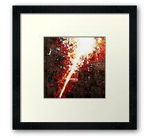 Battle Cry Framed Print