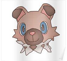 Cute Iwanko / Rockruff Pokemon Poster