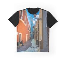Streets of the Old San Juan Graphic T-Shirt