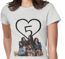 FIFTH HARMONY PHOTOSHOOT Womens Fitted T-Shirt