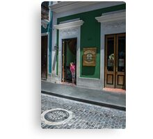 Streets of San Juan Collection Canvas Print