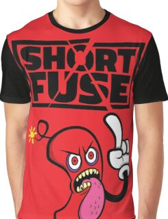 Short fuse angry red dynamite Graphic T-Shirt