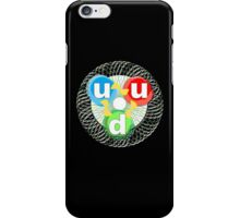 ATOM, ATOMIC, Quark, Matter, Elementary particle, Fundamental constituent of matter iPhone Case/Skin