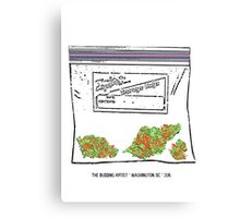 Red Racer #5 Ziplock Canvas Print