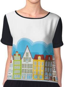 Small houses Chiffon Top