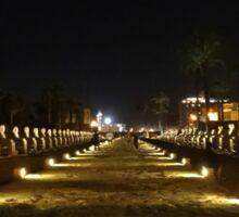 The lights of Luxor Sticker