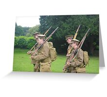 Birmingham Battalion, Royal Warwickshire Regiment (Birmingham Pals) Greeting Card