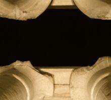 Luxor pillars across Sticker