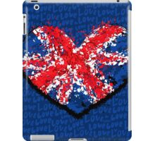 britain grunge flag iPad Case/Skin