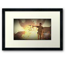 Video Game Highschool - Brian D Framed Print