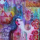 Art Reproduction of Original Painting Hope. Believe. Embrace by Tanya Cole