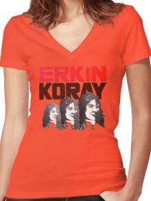 Erkin Koray wonderful cover album design! Women's Fitted V-Neck T-Shirt