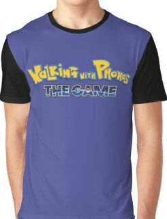 Walking with Phones: the Game Graphic T-Shirt